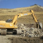 LB Chapman Construction Excavator
