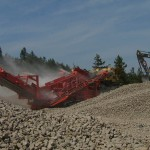 LB Chapman Construction Screener Equipment