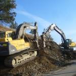 LB Chapman Construction Excavator hammer