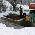 Barkerville Watermain & Fire lines Upgrade, Barkerville BC
