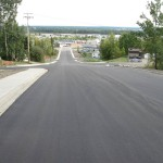 Liard Street Upgrades, Fort Nelson BC - LB Chapman Construction