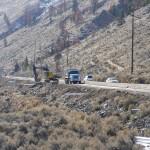 TransCanada Hwy Road widening, Spences Bridge BC - LB Chapman Construction