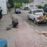 Storm sewer and Road Upgrades, Old Hazelton BC LB Chapman Construction