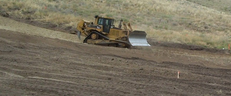 LB Chapman Construction - Crawler Dozer